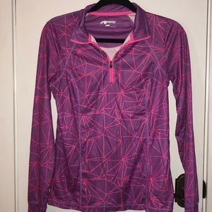 Xersion size Sm. Pink/purple pullover jacket